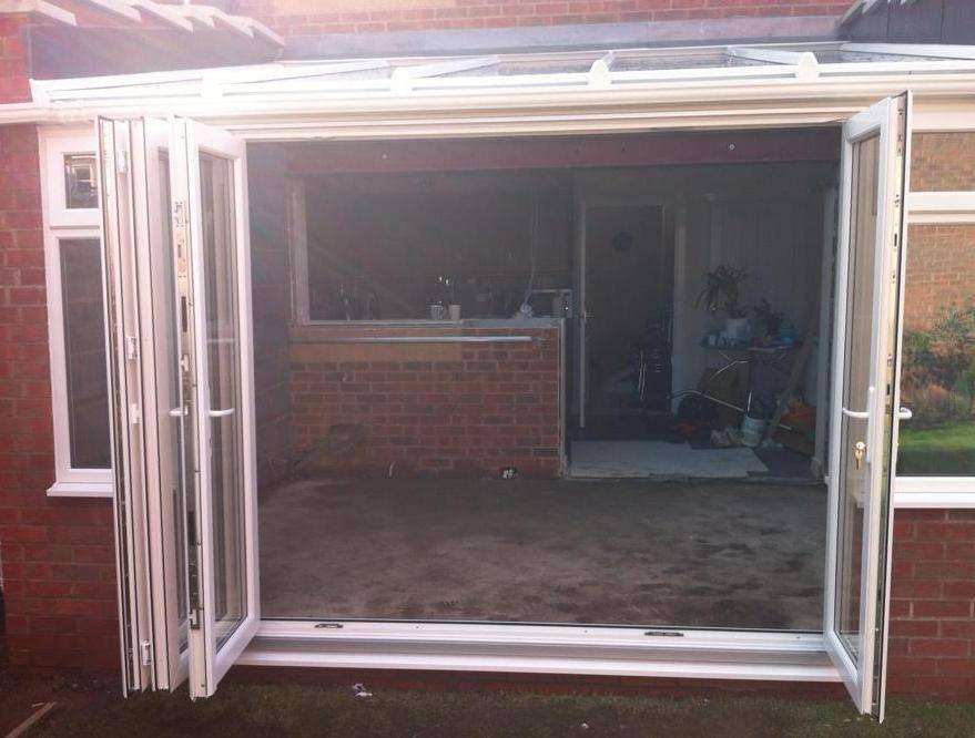 Bi fold doors UPVC & bi fold doors bifold doors bi folding doors Concertina doors bi ...